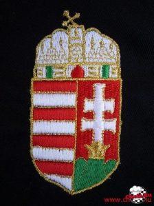 Vyšívanie maďarského erbu
