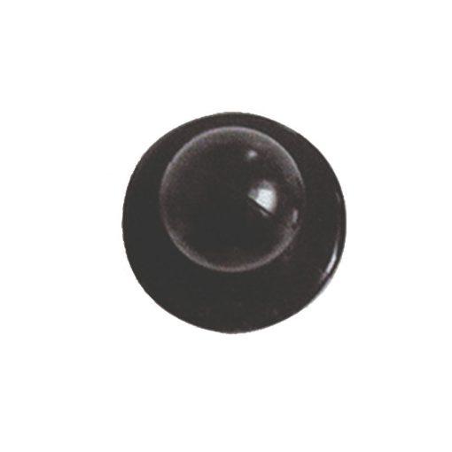 Čierny gombík na kuchársky kabát 12ks
