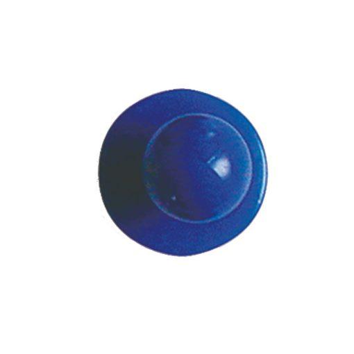 Modrý gombík na kuchársky kabát 12ks
