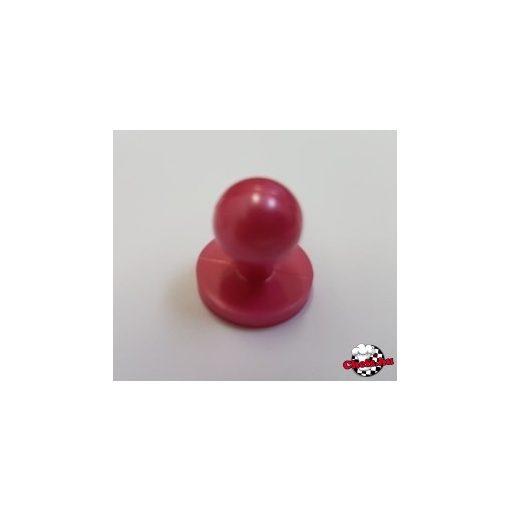 Selyemakác színű szakácskabát gomb 12 db