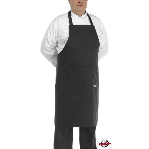 Kuchárska zástera čierna veľká