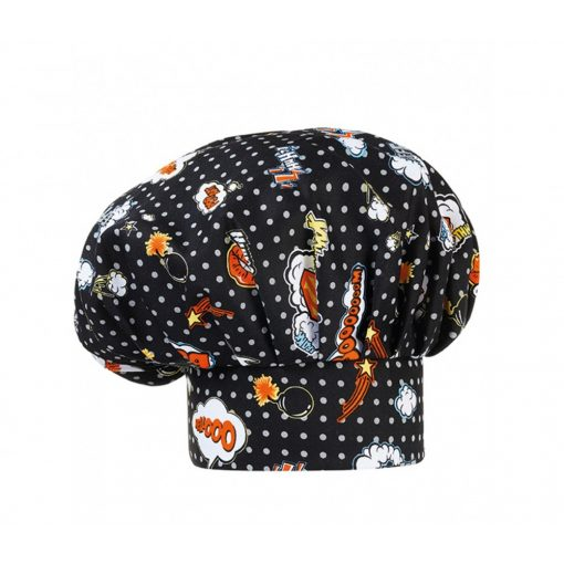 Kuchárska čiapka s POP ART vzorom