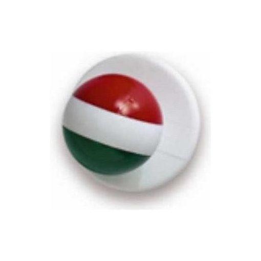 Gombík na kuchársky kabát - s maďarskou vlajkou 12ks
