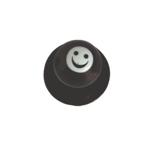 Gombík na kuchársky kabát - usmievavý smajlík 12ks