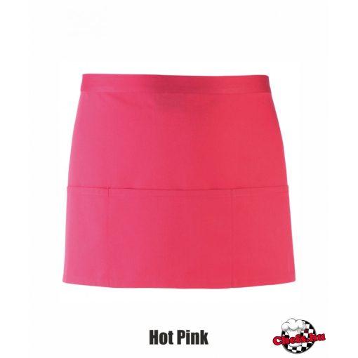 Bárkötény - hot pink színben